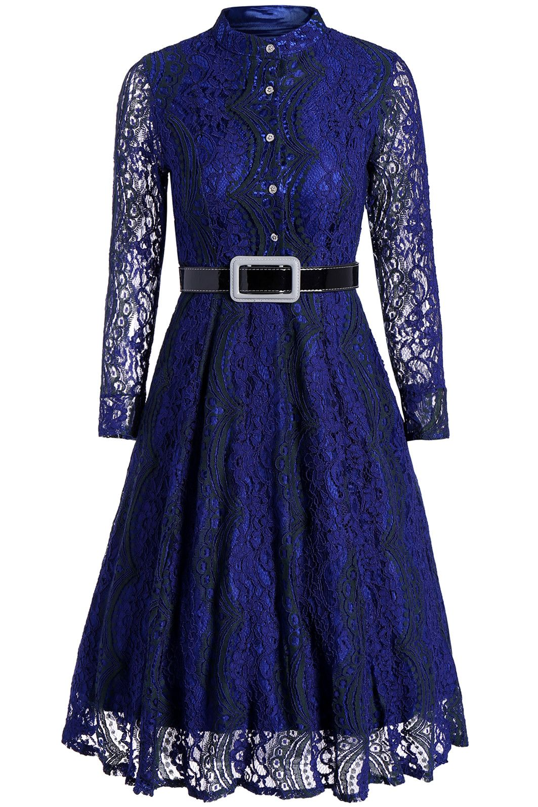 button long sleeve lace midi dress long sleeve dresses