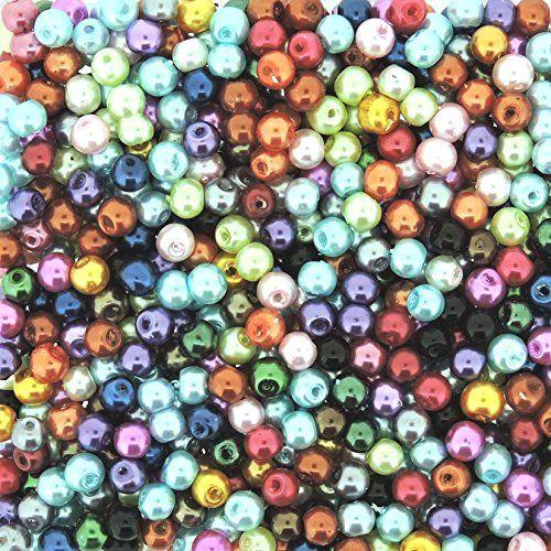 Beads Direct USA's Glass Pearls Mix 800pcs Tiny Round Glass Pearls 4mm Assorted Color Mix Beads Direct USA http://www.amazon.com/dp/B017A57IRK/ref=cm_sw_r_pi_dp_h6pmwb09A6G9B
