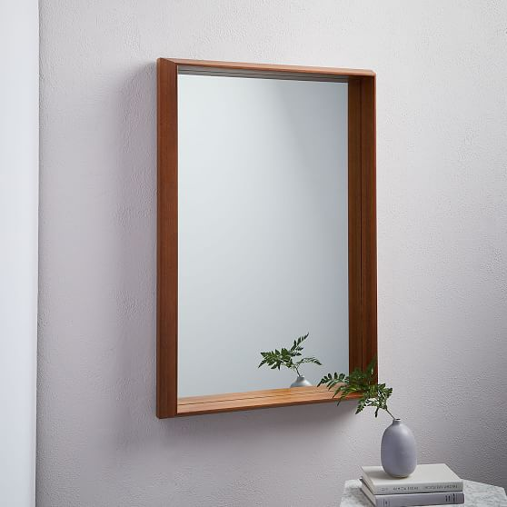 Style Stages West Elm Lighted Wall Mirror Modern Mirror Wall