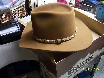 8437698329e85 Men s Resistol Roundup Collection Hat Size 7-1 8