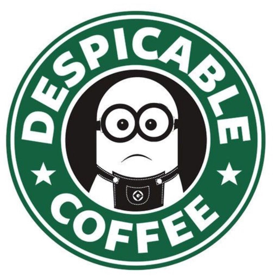 Says It All He Looks Like He Hates Coffee As Much As I Do Minions Funny Minions Minions Despicable Me