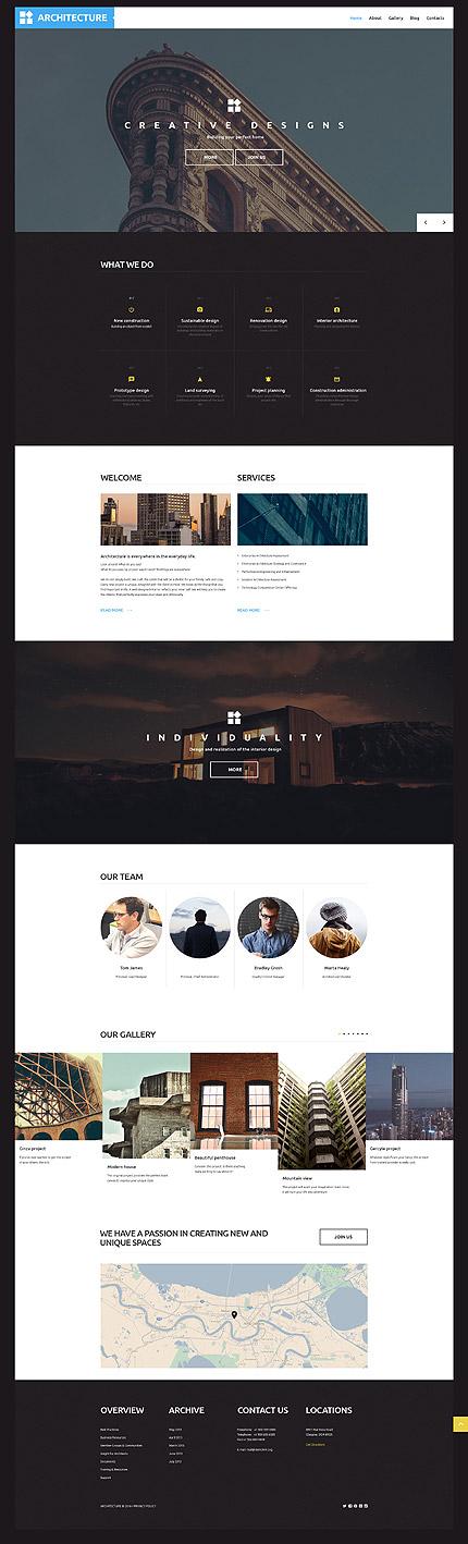 Architecture Studio #Wordpress #template. #themes #business ...