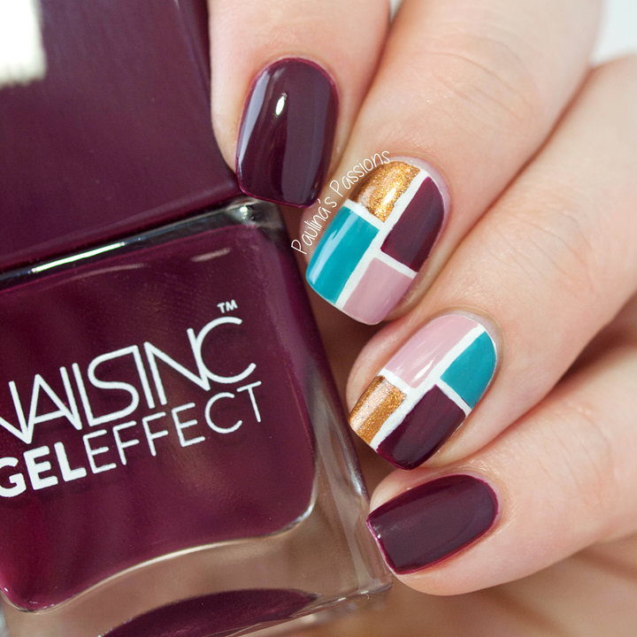 Fall Color Block Nails by Paulina\'s Passions | Nail Art Community ...