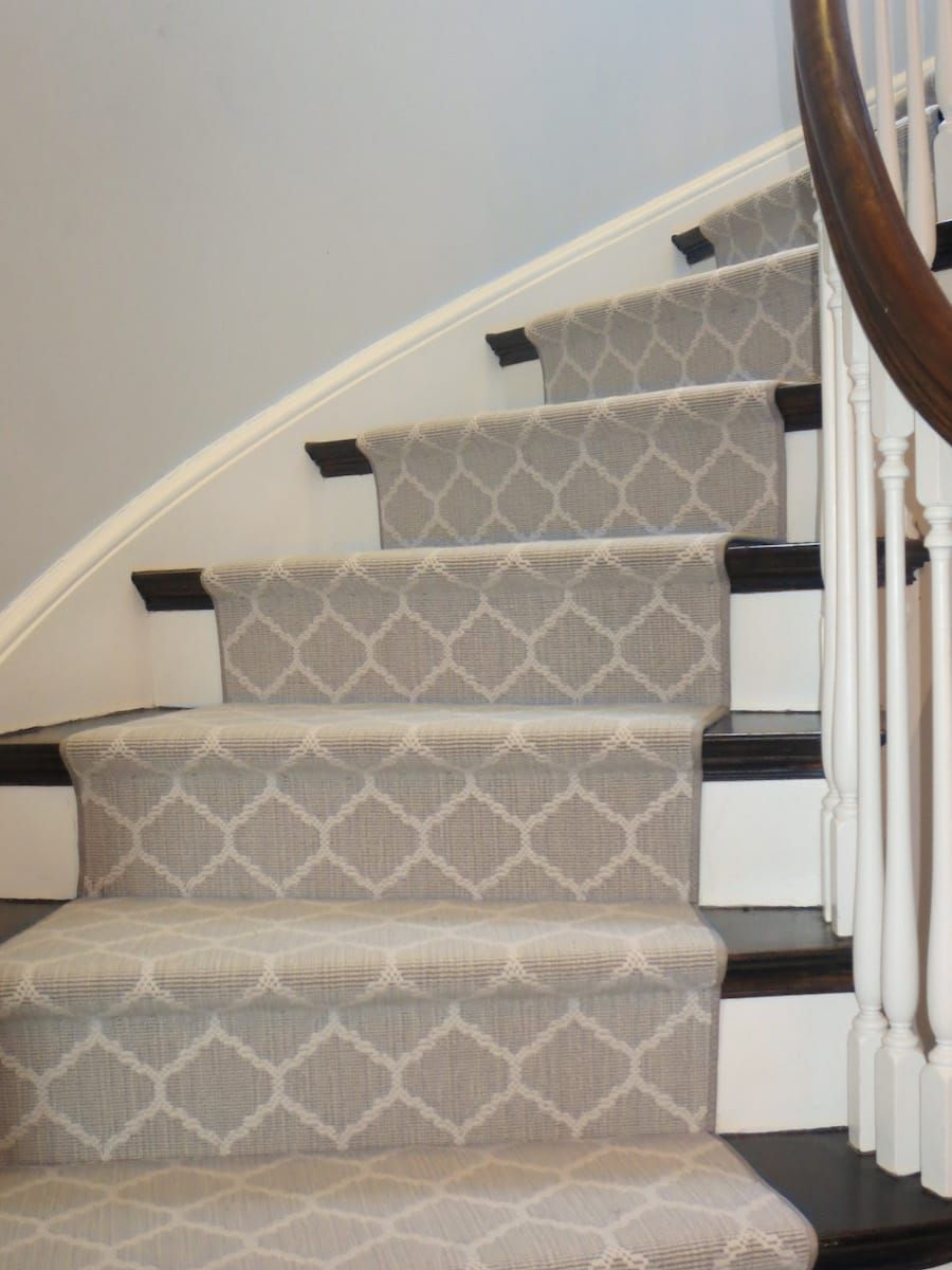 Stanton Carnegie Flax Stair Runner 5 Staircase
