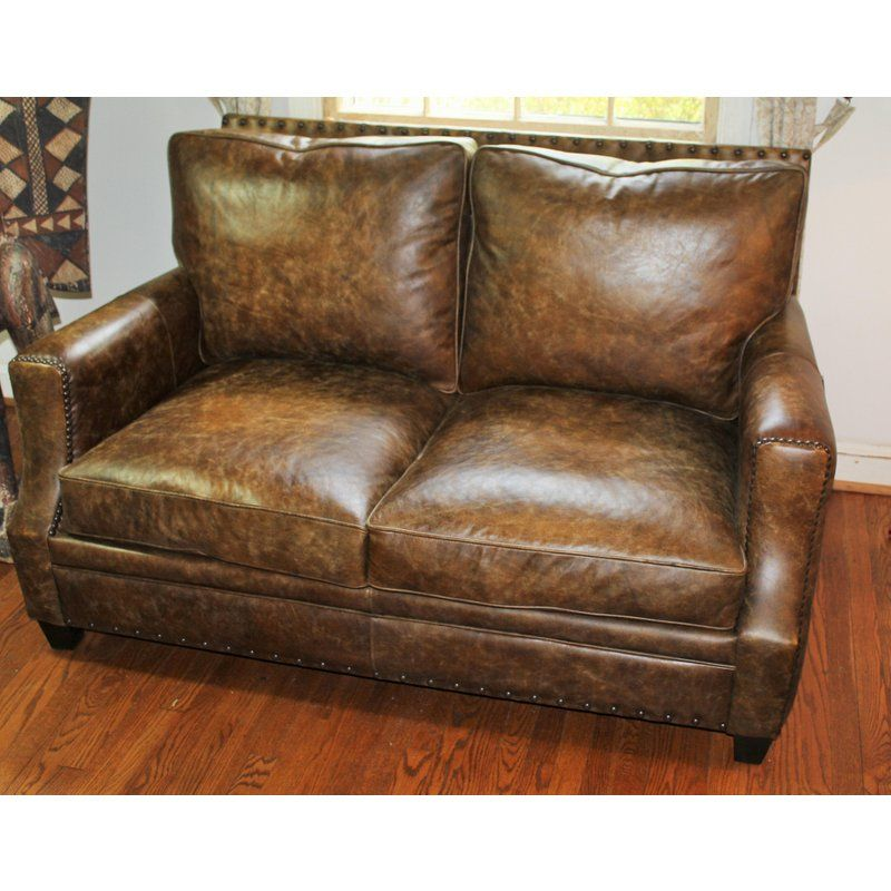 Groovy Bernhardt All Leather Loveseat In 2019 Living Room Home Interior And Landscaping Ologienasavecom