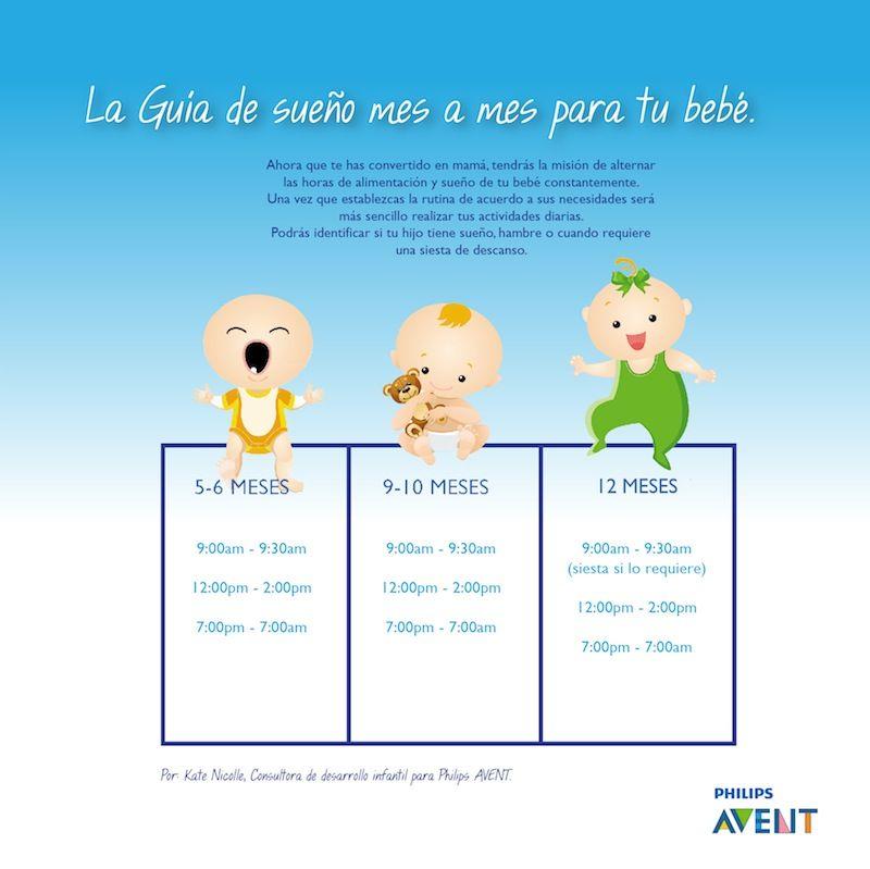 La Guía De Sueño Para Tu Bebé De 4 A 12 Meses Baby Development Development Baby