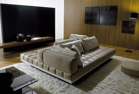 Perfect Sofas For Socializing Curved And Double Sided Contemporary