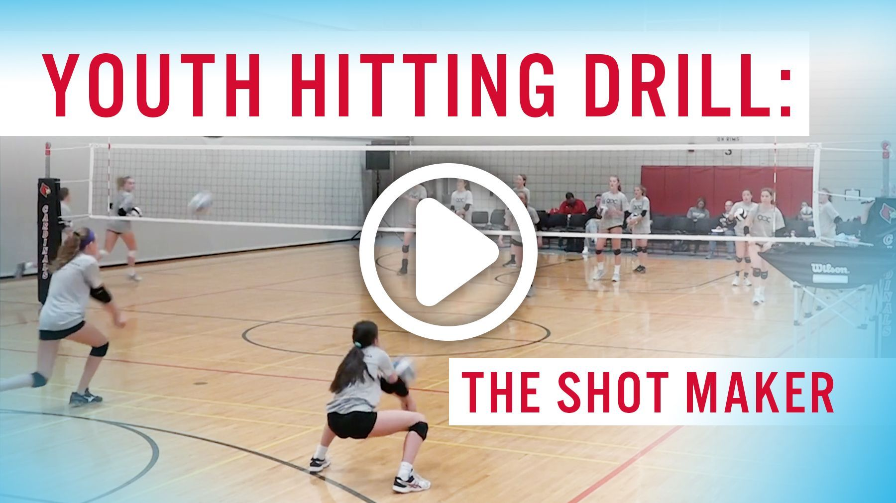 Youth Hitting Drill The Shot Maker The Art Of Coaching Volleyball Volleyball Drills Volleyball Practice Volleyball Skills