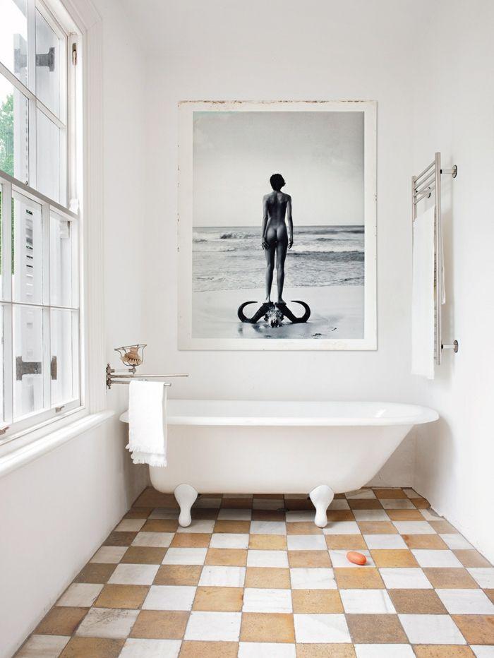 1001 ideas de cuadros para ba os modernos con estilo for Banos modernos con banera