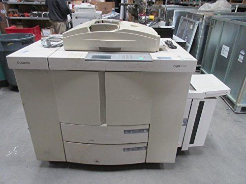Canon Np 6085 Nqd03321 S0265680 Black Amp White Copier Machine