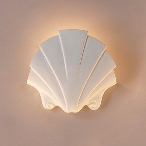 Ocean Theme Wall Sconces Seashell Themed Sconce Traditional