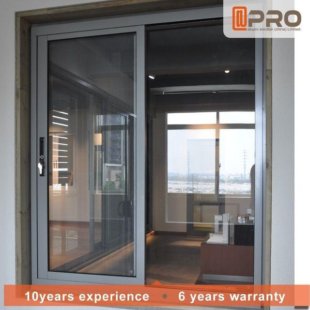 2018 Moderno Casa Ventanas De Aluminio Estilo De Rejas Para Ventanas Correderas En Ventanas De Puertas Y Slider Window Apartment Bathroom Design Window Styles