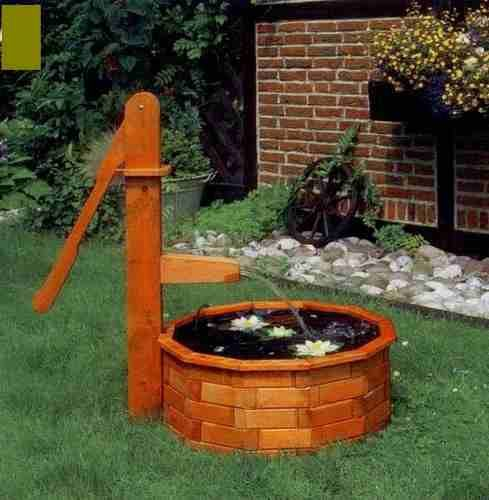 Adornos de madera para el jardin buscar con google for Adornos patios jardines