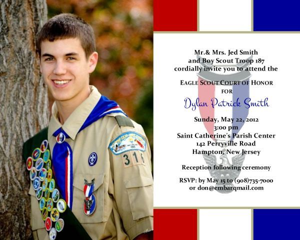 Eagle Scout Court Of Honor Nvitations And Thank You Cards in attractive unique Eagle Scout Invitation Cards decor