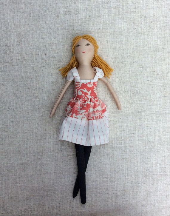 Renee is a dress-up cloth doll made for active, quiet and imaginative play for children of all ages. Made in a pet free, smoke free environment, she is
