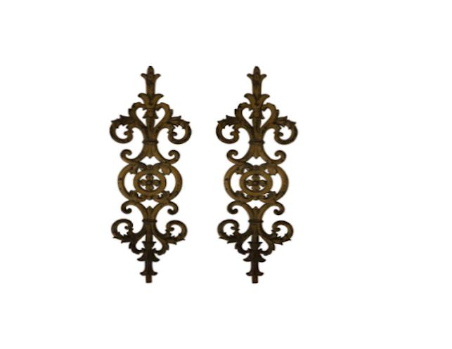 Antique Wrought Iron Decorative Accents Wrought Iron Decor Iron