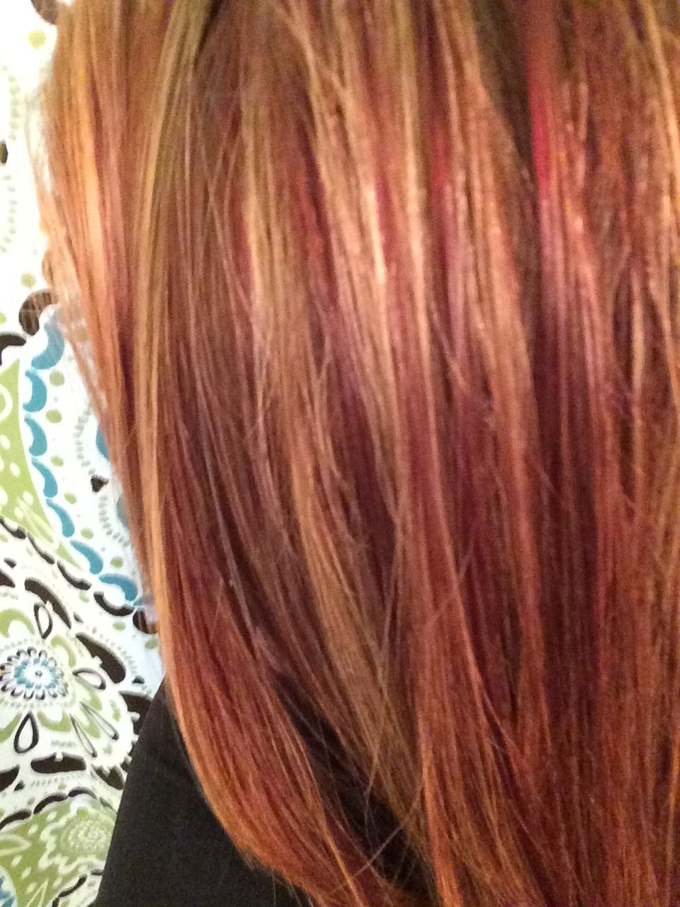 Natural Red Hair With Copper And Deep Red Lowlights Ginger Locks