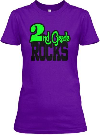 2nd Grade Rocks Teacher T Shirt Teespring 1 Teacher T Shirts