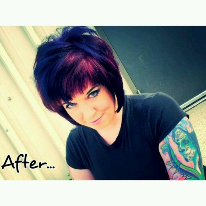 Pravana Vivids Color Done At Plaza West Cost Cutters In Mason City