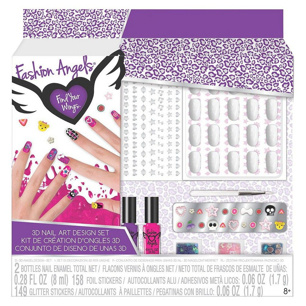 Fashion Angels Nail Artist Design Set Nailstip