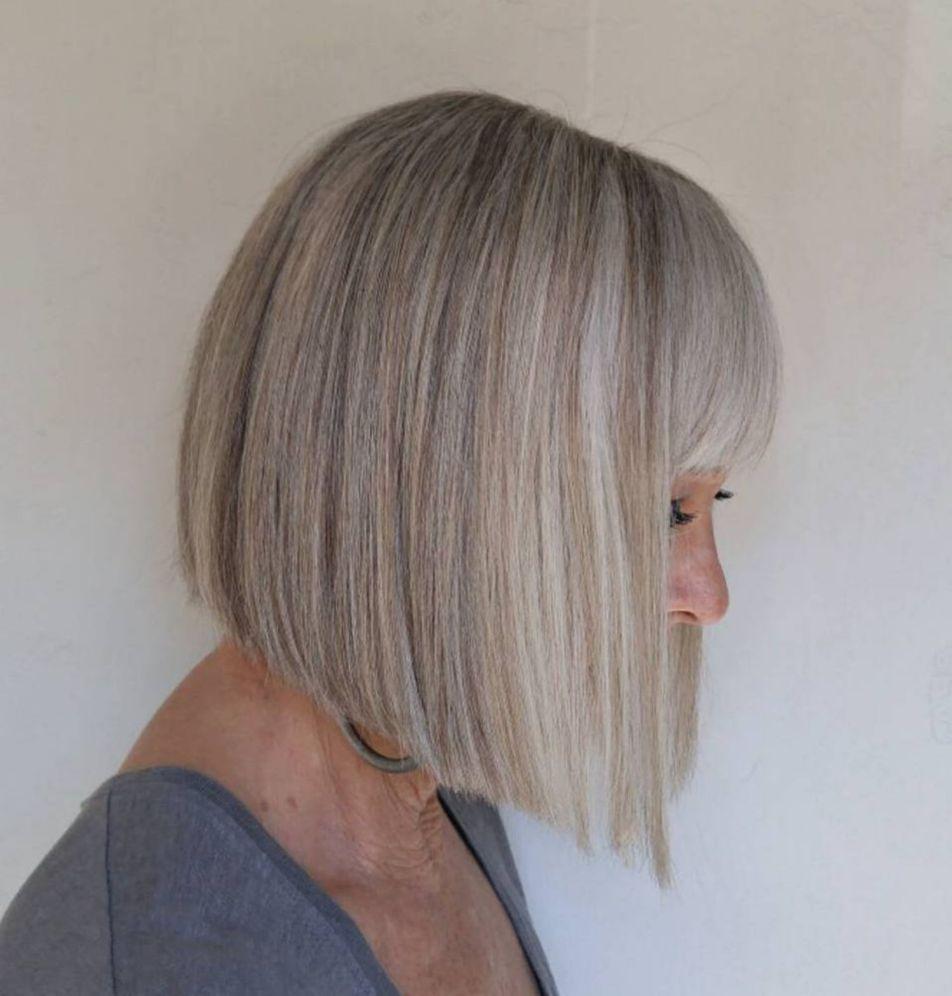 gorgeous gray hair styles in hairstyles pinterest hair