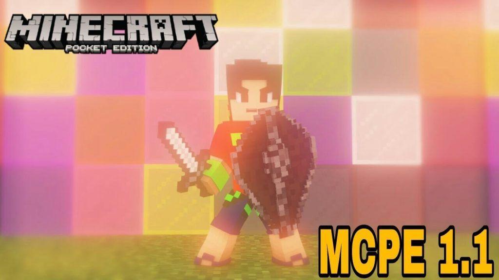 Download Minecraft PE 1.1 APK (MCPE 1.1.0)
