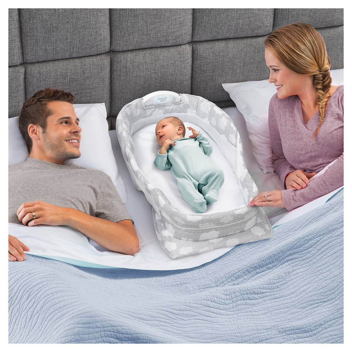 Baby Delight Snuggle Nest Harmony Portable Infant Sleeper