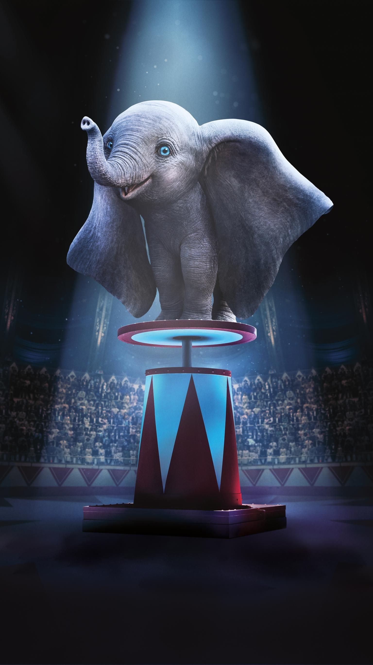 Dumbo 2019 Phone Wallpaper Dumbo Movie Wallpaper Movie