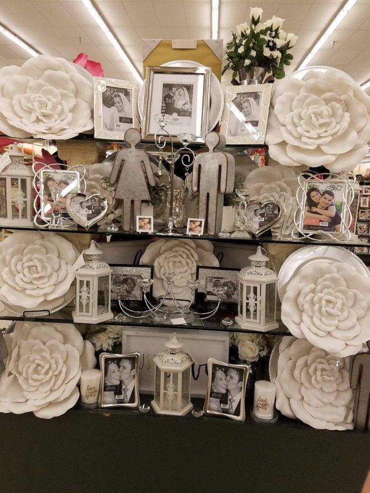 Hobby Lobby wild rose wedding decor  Hobby Lobby Designers in 2019  Hobby lobby decor Hobby