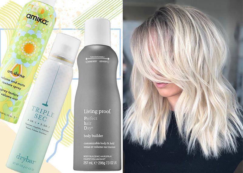 15 Best Volumizing Texturizing Sprays To Get French Girl Undone Hair Texturizing Spray Hair Volume Spray Best Texturizing Spray