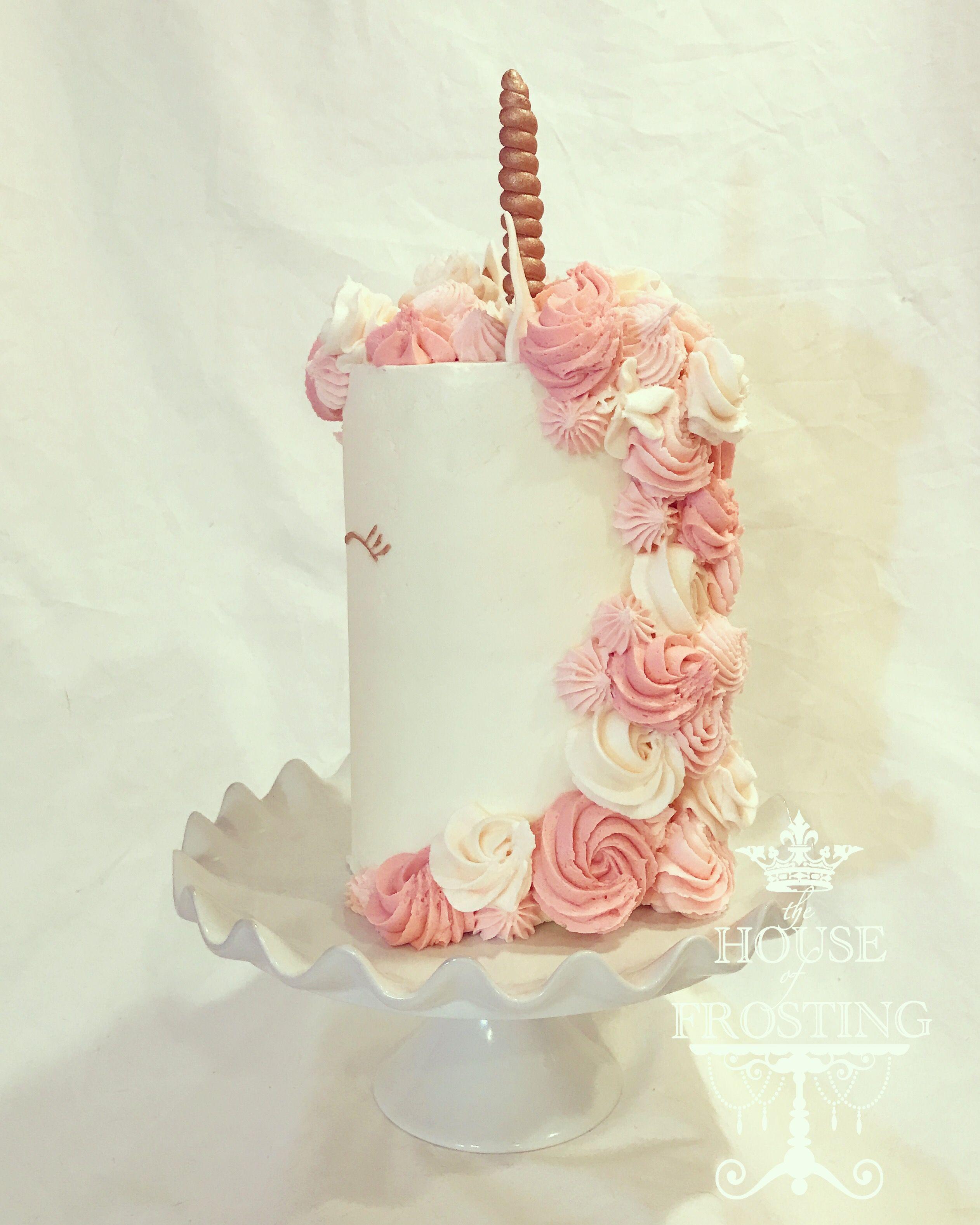 Unicorn Cakes Unicorn Cake Rose Gold