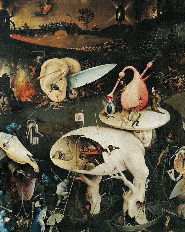 Insight into Hell 3 by Hieronymus Bosch iPhone 11 case