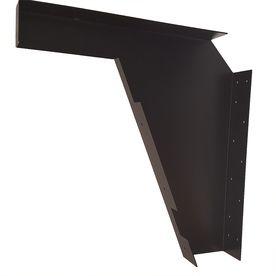 Counterbalance Ada Bracket 22 In X 3 21 Black Countertop Support Cch Cbada21bl Im