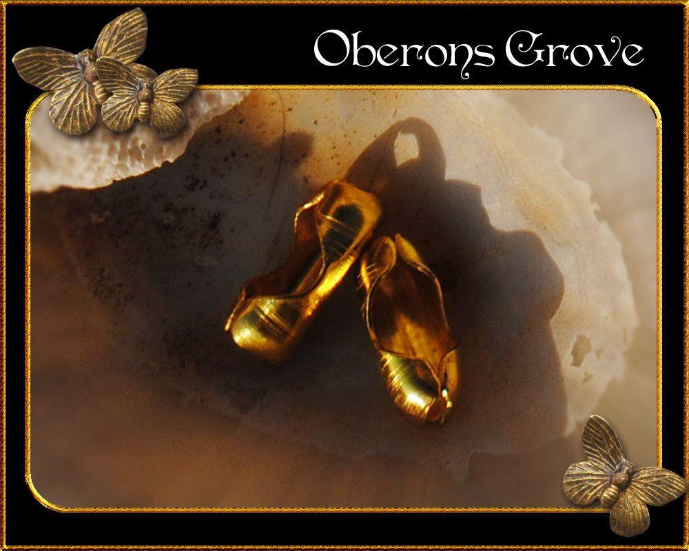 20 Kugelkette Verschlüsse gold für 2 - 2,5mm Kugelketten von OberonsGrove auf Etsy