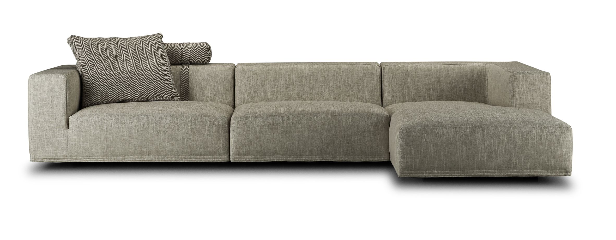 eilersen baseline 3 piece sectional available either left or