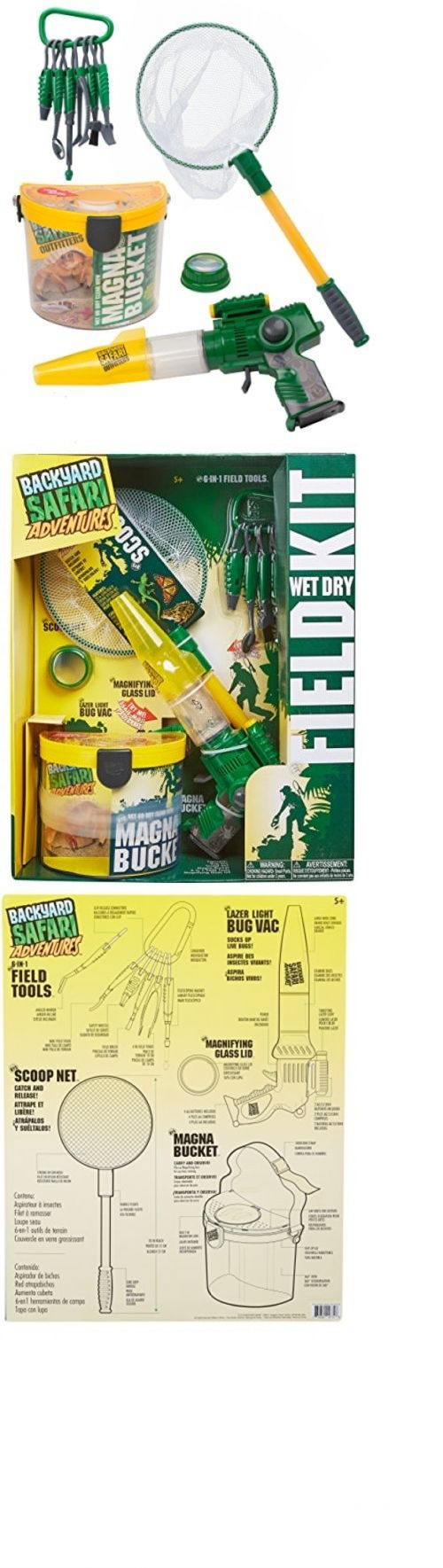 other science and nature toys 11737 backyard safari field kit bug