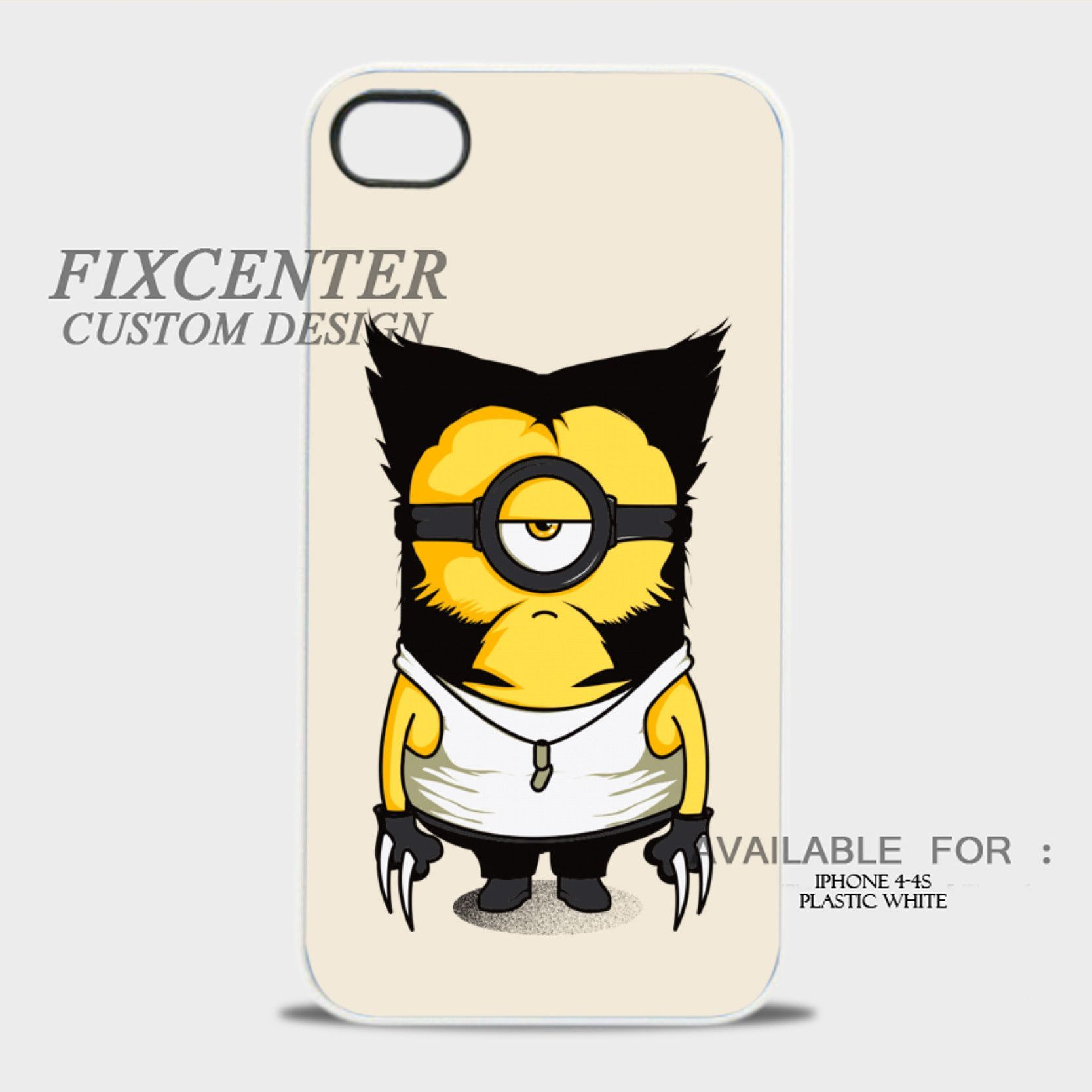 WOLVERINE MINIONS - iPhone 4/4S Case