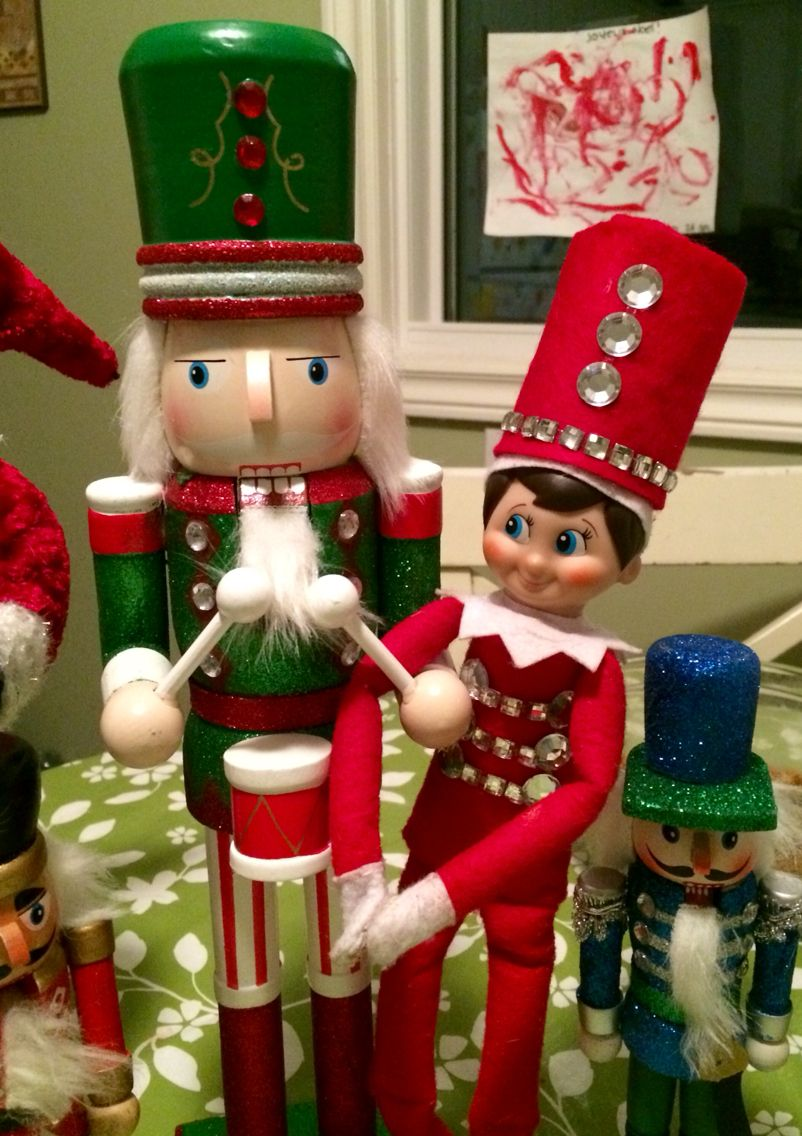 Nutcracker Elf On The Shelf Elf The Elf Christmas Elf