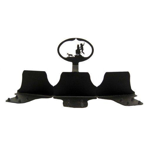 Pole Bending Triple Belt Buckle Display Stand