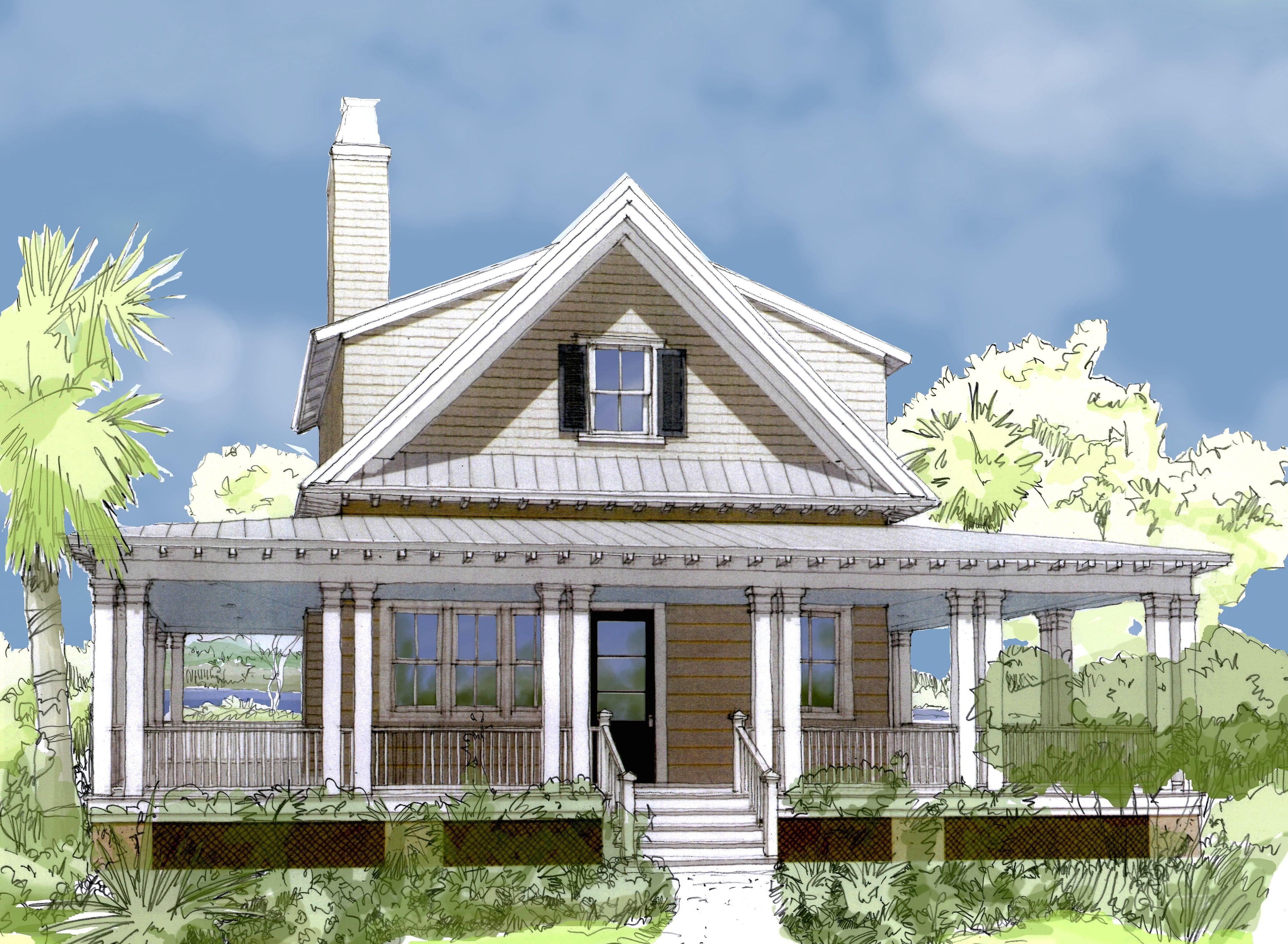 Http Www Flatfishislanddesigns Com Sites Default Files 20curlewcottage4 Jpg Cottage Plan House Plans Coastal Cottage