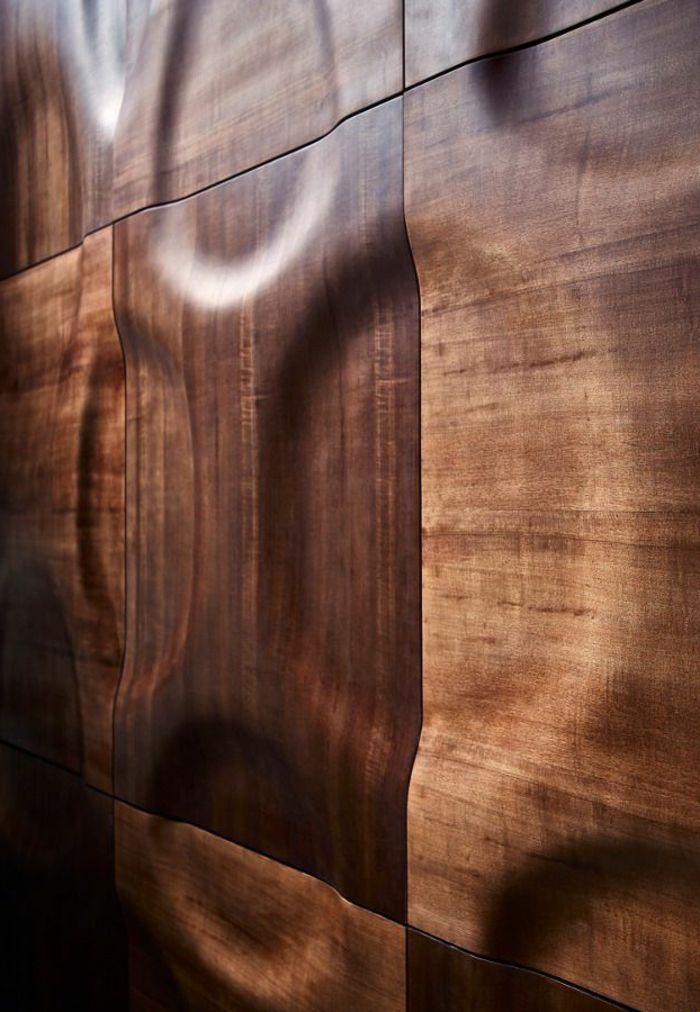 3d wandpaneele 37 wundersch ne beispiele wanddeko f r ein modernes zuhause - Holzwand fliesen ...