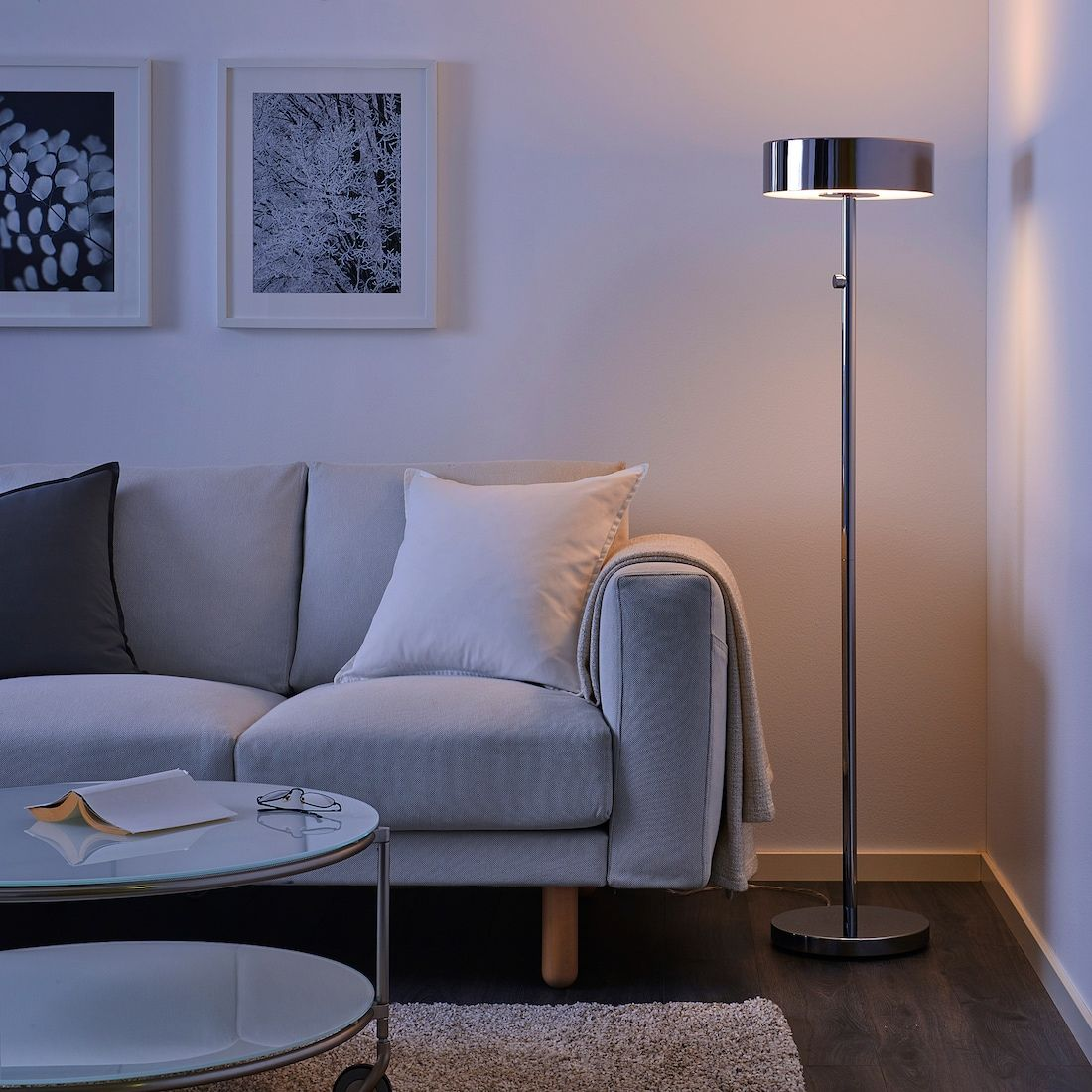 STOCKHOLM 2017 chrome plated, Floor lamp IKEA in 2020