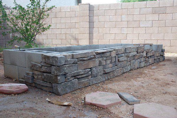 Raised Bed Stone Bing Images Building A Raised Garden Raised Garden Cinder Block Garden