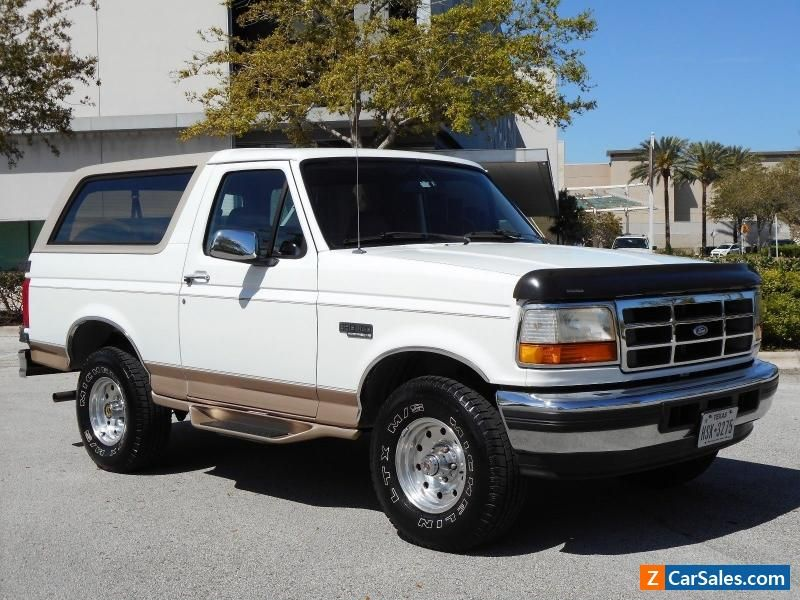 1996 Ford Bronco Ford Bronco Forsale Canada