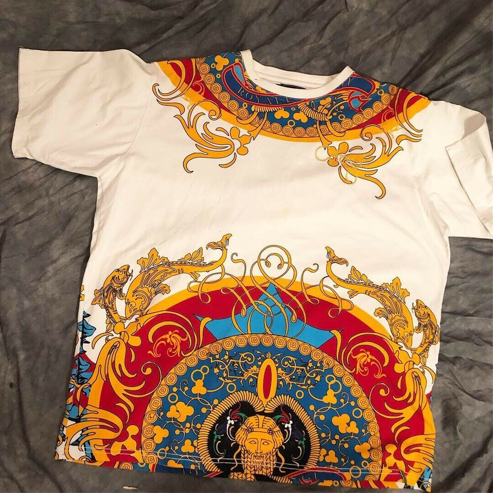 Coogi Mens T-Shirt Sz XXL Embroidered Spell Out White ...