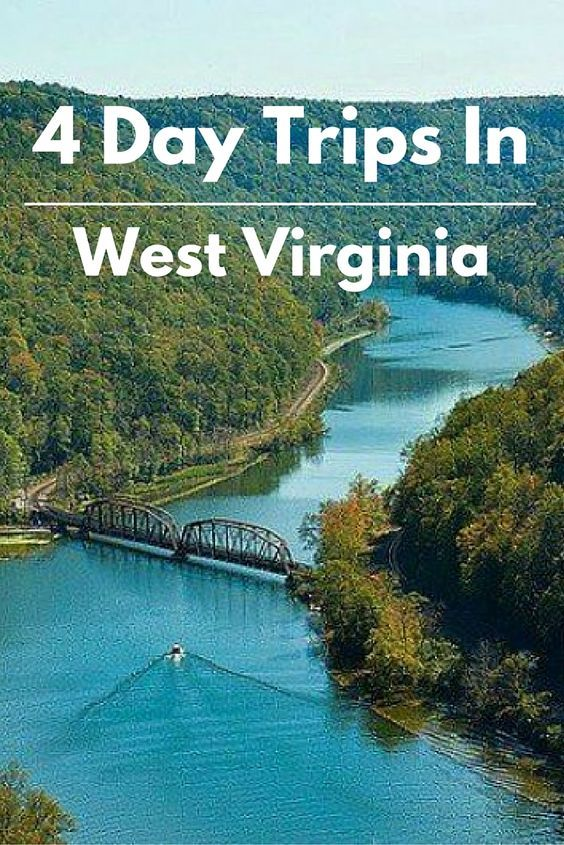 4 awesome day trips in and around West Virginia