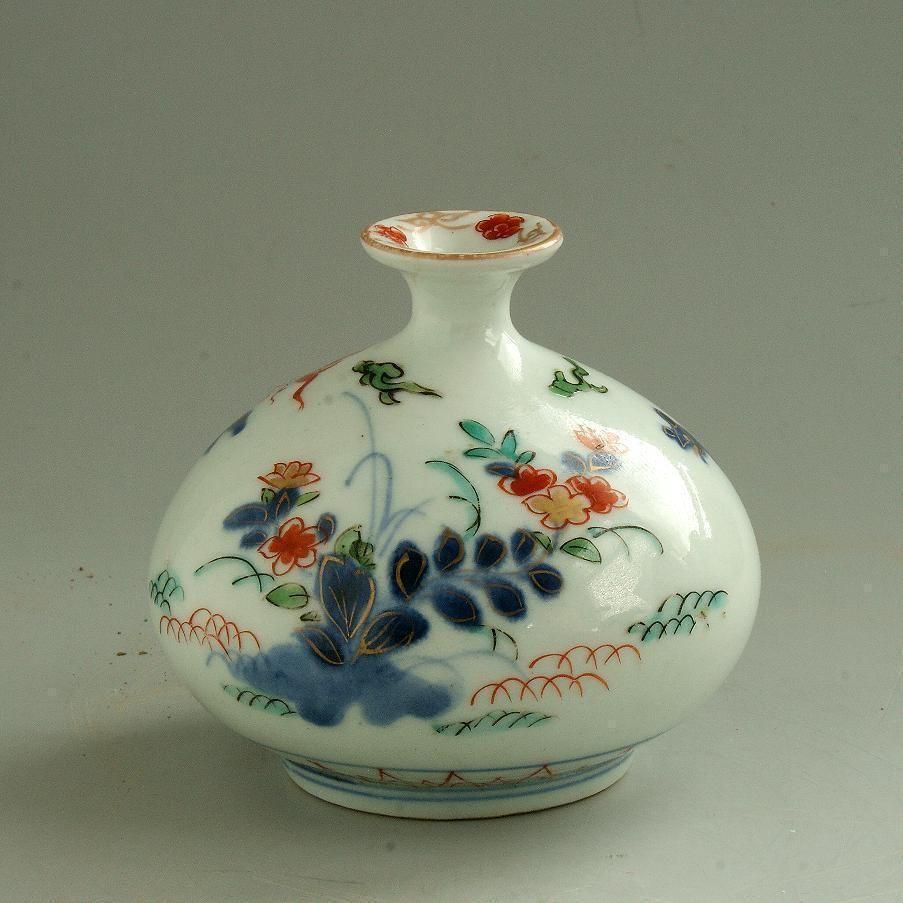 Japanese arita porcelain oil bottle 18th century edo period japanese arita porcelain oil bottle 18th century edo period reviewsmspy