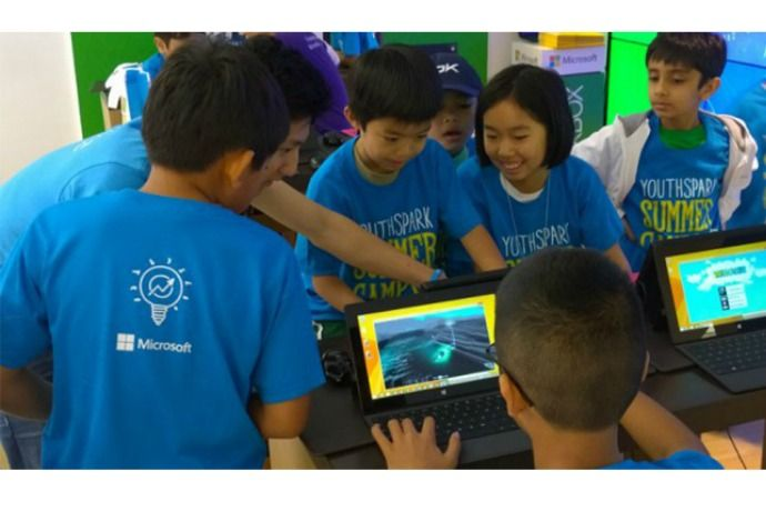 Microsoft YouthSpark Summer Camp: Free coding classes