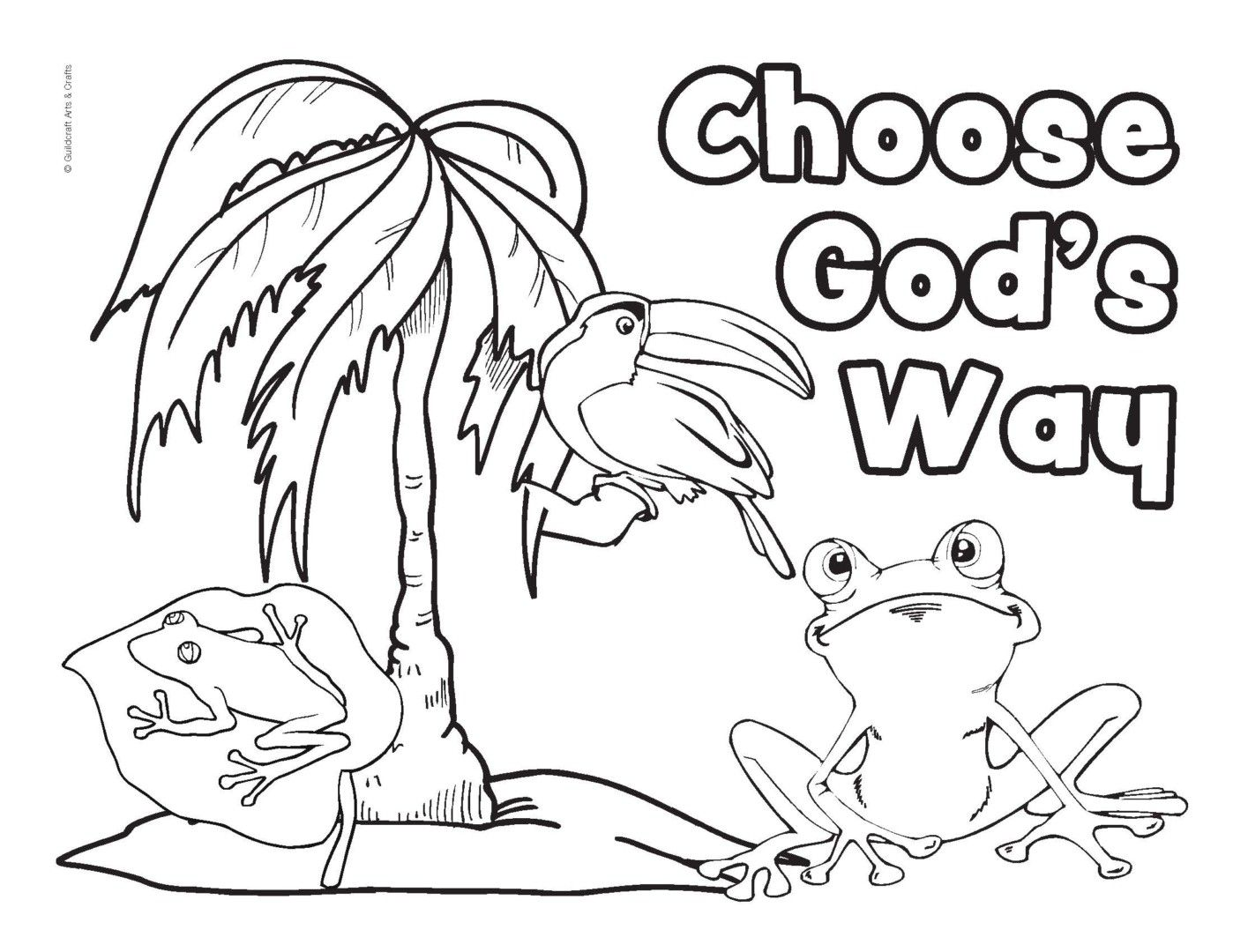 Free Coloring Sheets From Guildcraft Arts Crafts Coloringsco Weird Pages