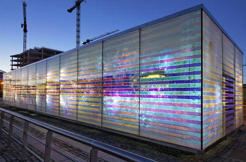 dichroic glass architecture - Google zoeken